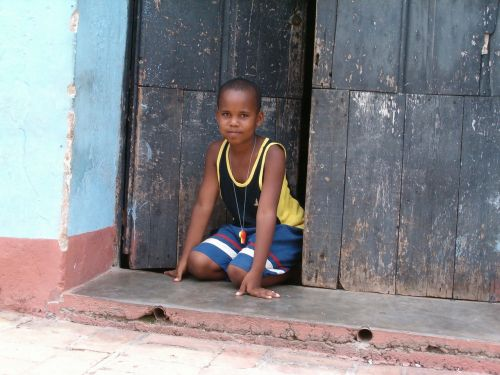 cuba child boy