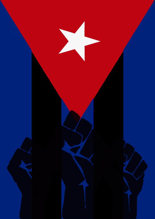 cuba revolution fist