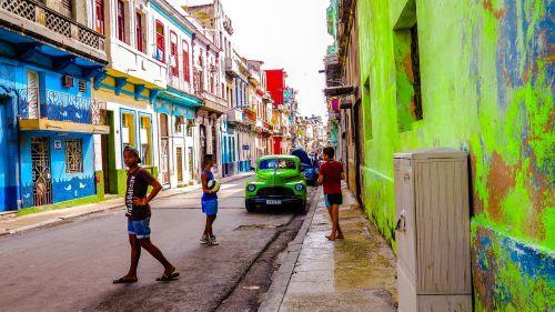 cuba havana old houses