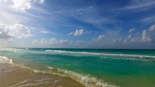 cuba ocean beach