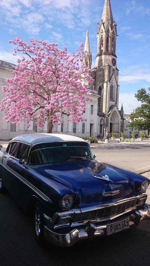 cuba  classic car  classic