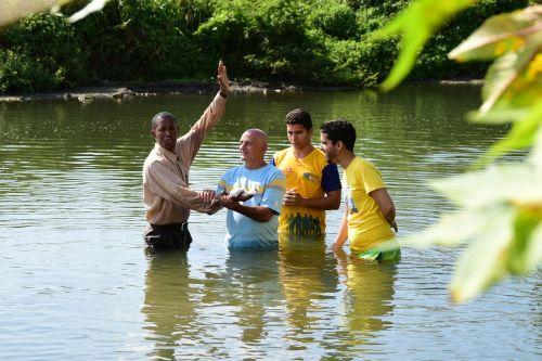 cuban river baptism