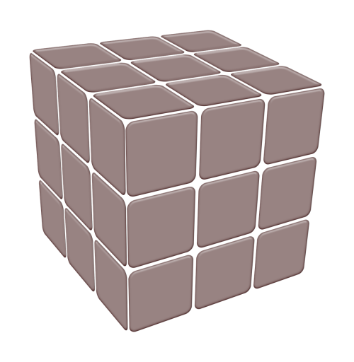 cube square transparency