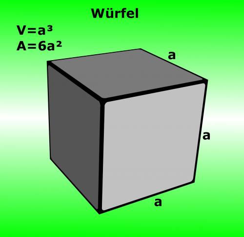 cube mathematics stereometry