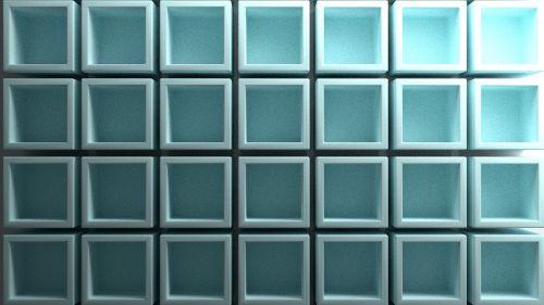 cube cubes blue