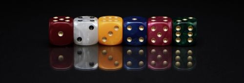 cube roll the dice play