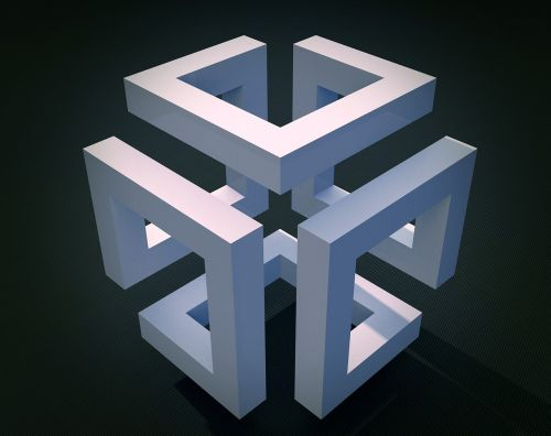 cube geometry construction