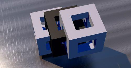 cube block open