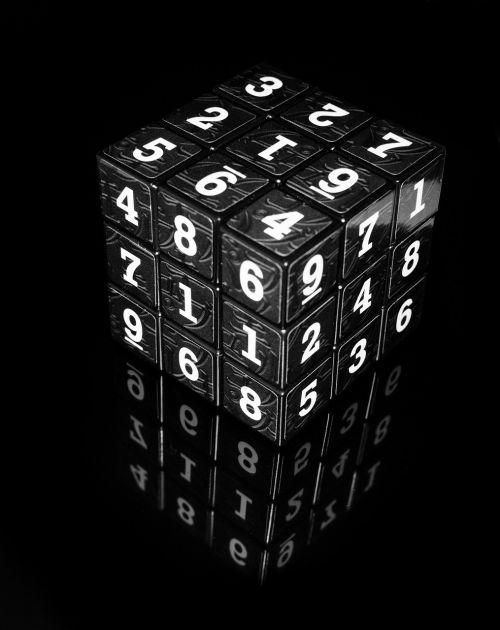 cube numbers block