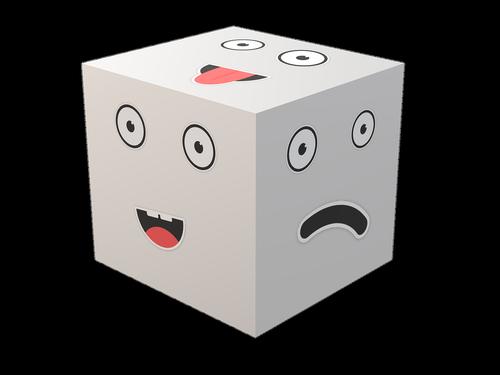 cube  opinion  mood