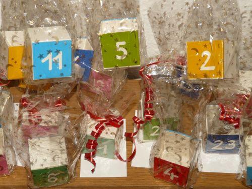 cube number advent calendar
