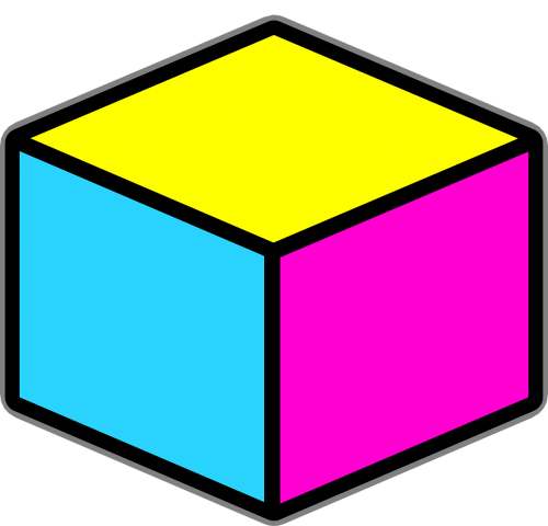 cube objects boxes