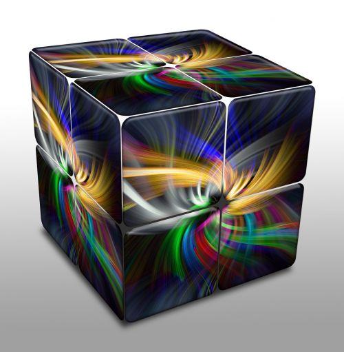 kubas,skaitmeninis,abstraktus,spalva,spalva,modelis,geometrinis,dizainas,sugeneruotas,daugiaspalvis
