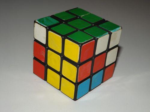 cube magic pre-mounted green