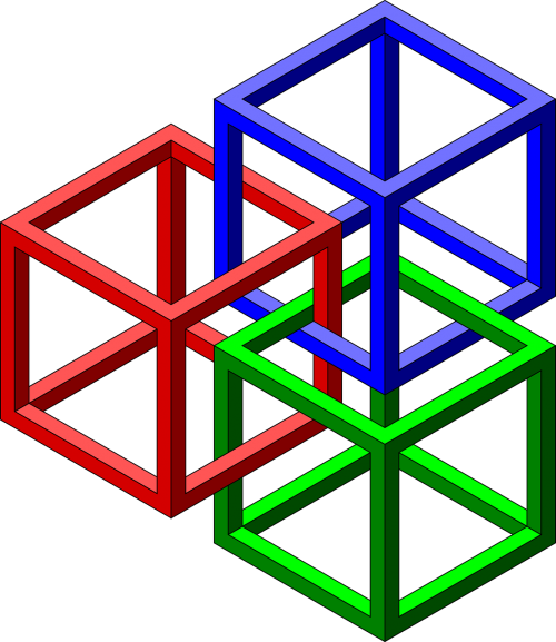 cubes impossible geometry