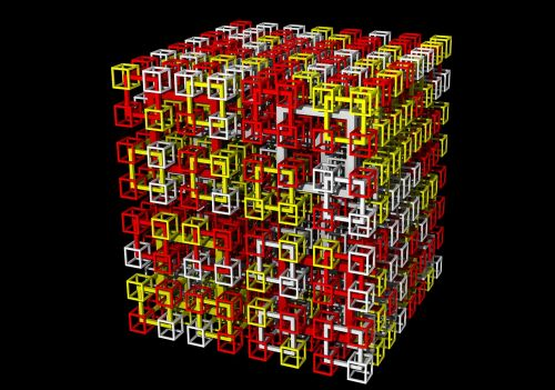 cubes maths 3d