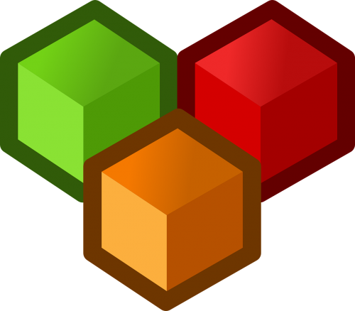 cubes shapes designing