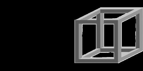 cubes transparent glass