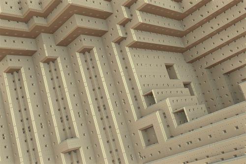 cubic construction 3d