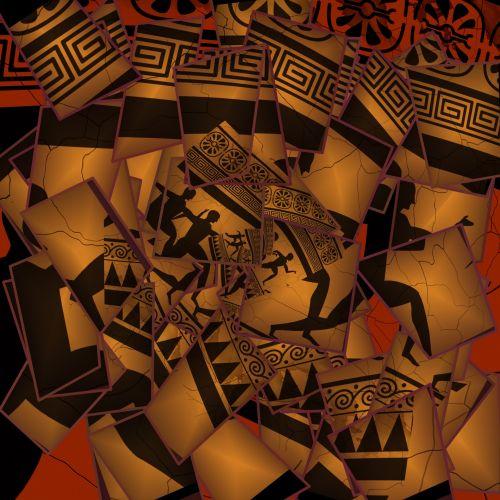 Cubist Art Background
