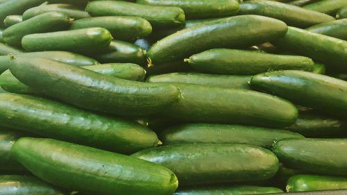 cucumber vegetables green