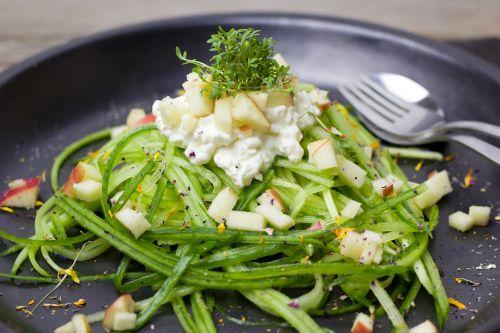 cucumber cucumber salad spaghetti