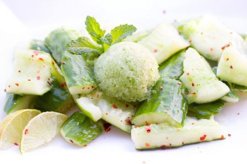 cucumber cucumber salad salad