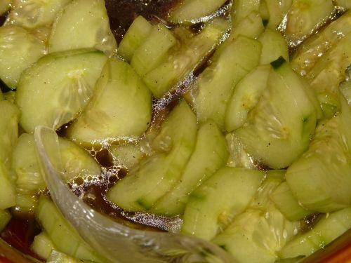 cucumber cucumber salad vinegar