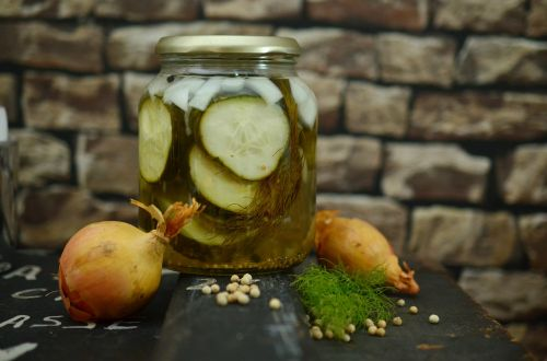cucumbers pickle jar preserves