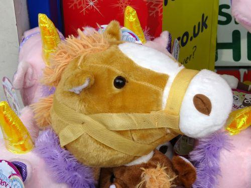 Cuddly Pony Toy