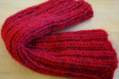 cuff garment knitted
