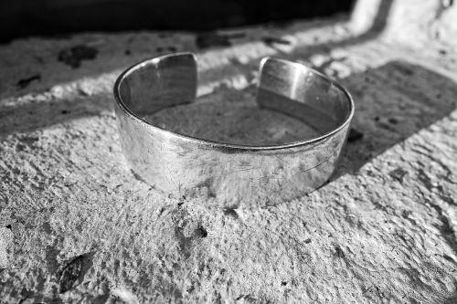 cuff bracelet silver