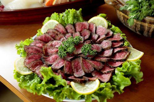 cuisine beef seared