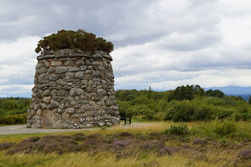 culloden  scotland  battle field