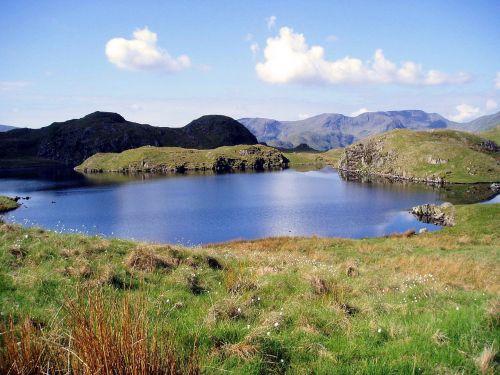 cumbria lakes mountain