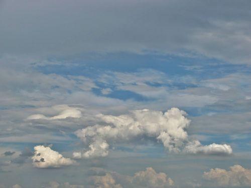 cumulonimbus cumulus clouds