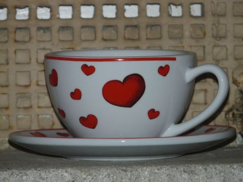 cup heart love
