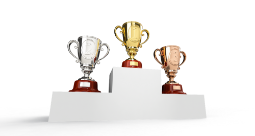 cup podium trophy