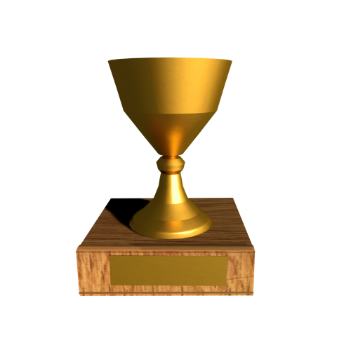 cup trophy winner