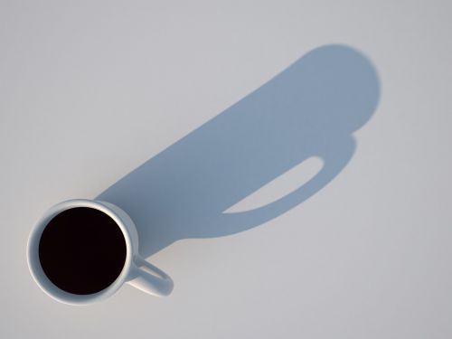 cup shadow 3d