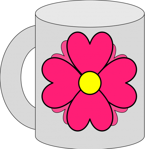 cup flower beautiful
