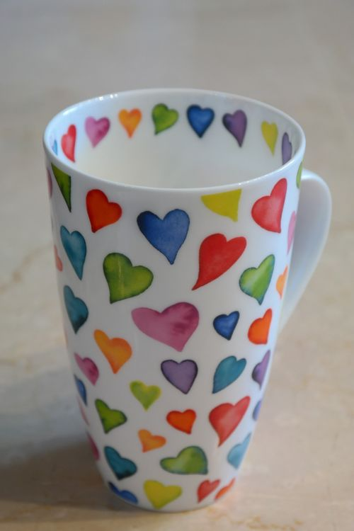 cup coffee cup colorful