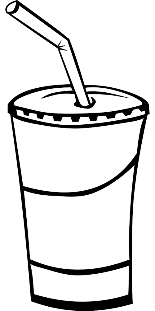 cup lid straw