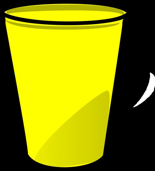 cup plastic paper