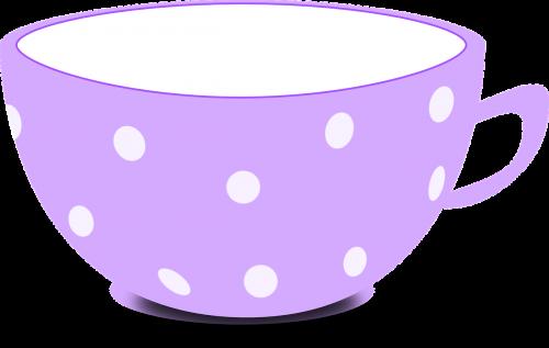 cup purple tea