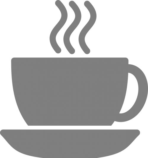 cup coffee cup steaming