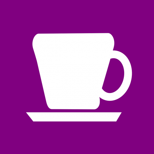cup coffee serving