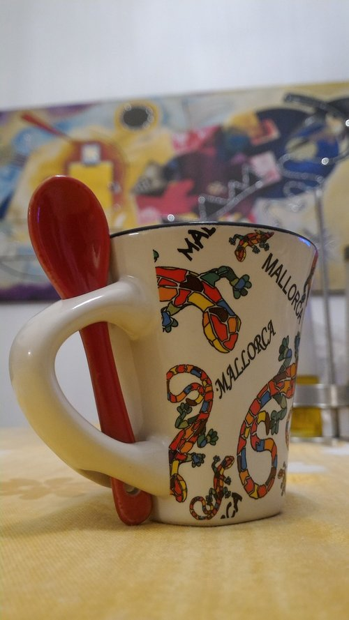 cup  coffee  teaspoon