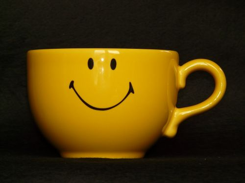 cup coffee cup smiley