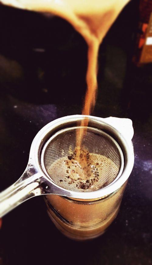 cup tea milk